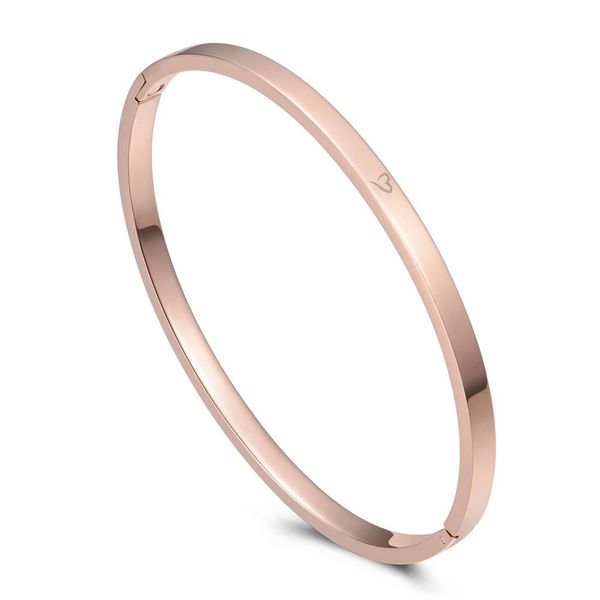 Bangle Basic Rose Gold 4mm