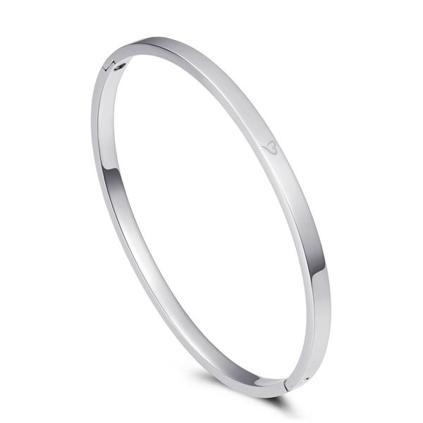 Bangle Dream Big Silver 4mm