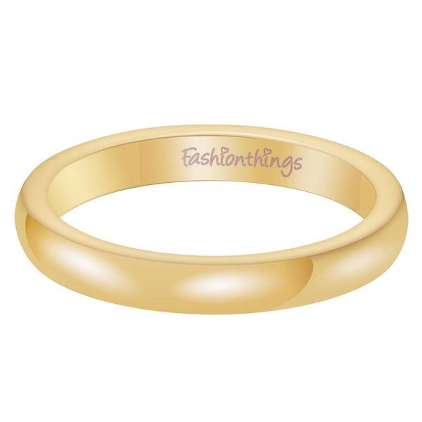 Keep It Simple Ring Gold