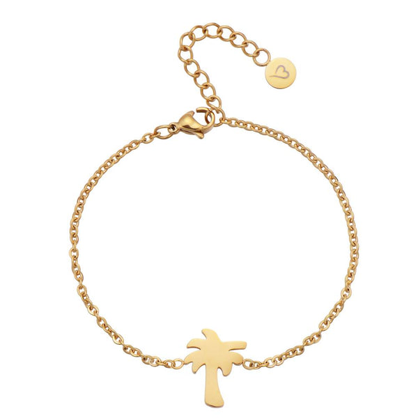 Find Me Under The Palms Bracelet Gold