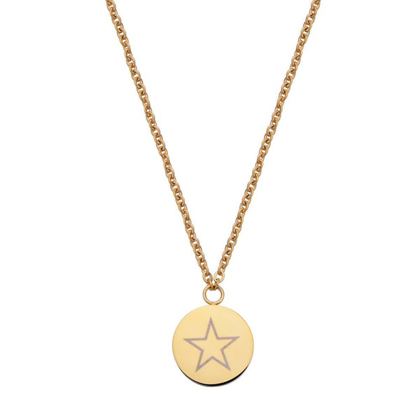 Shining Star Necklace Gold