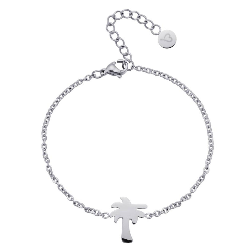 Find Me Under The Palms Bracelet Silver