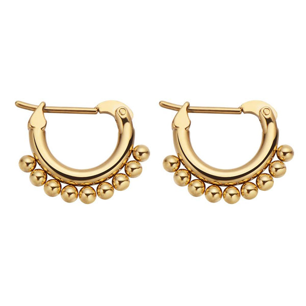 Connect The Dots Earrings Gold