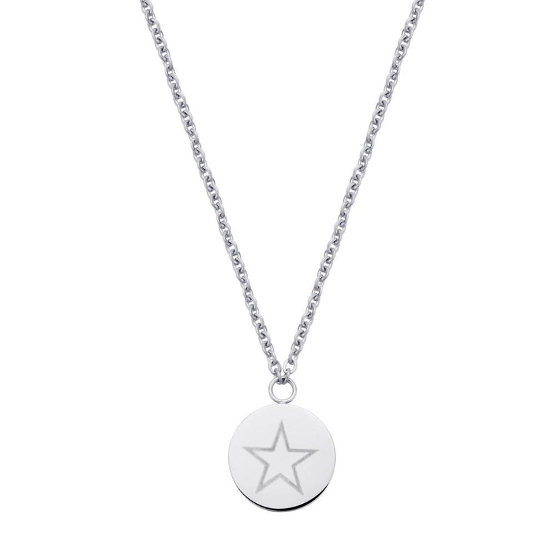 Shining Star Necklace Silver