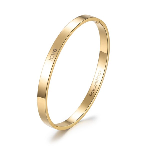 Bangle Love Gold 6mm