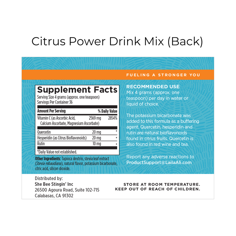 Citrus Power Drink Mix