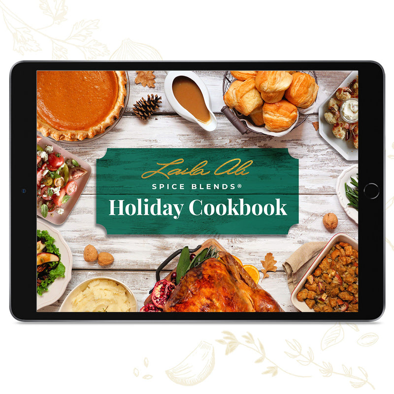 Laila Ali Spice Blends Holiday Cookbook