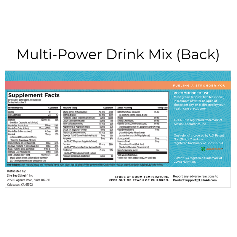 Multi-Power Drink Mix