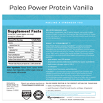 Paleo Power Protein - Vanilla