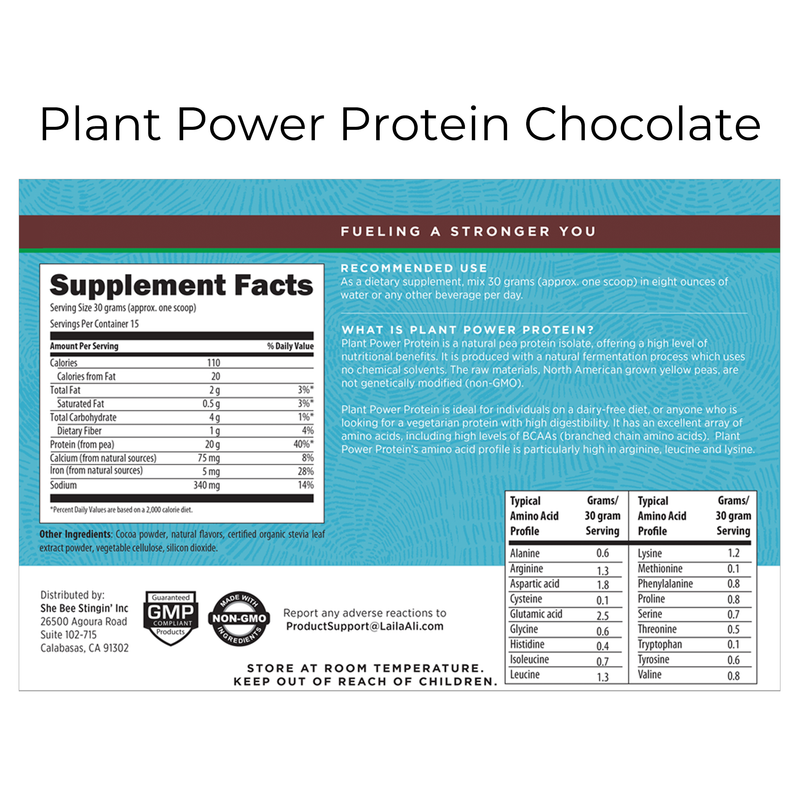 Plant Power Protein - Chocolate