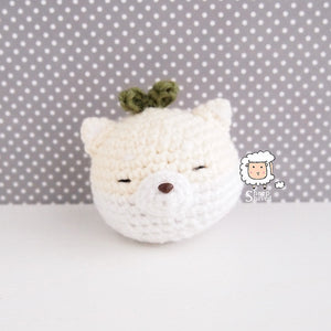 "Animal Plants: ""Lazy"" Edition PATTERN (Cat,Shiba, and Sloth)"