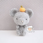 Crochet Chinese New Year Mouse - Finished Item