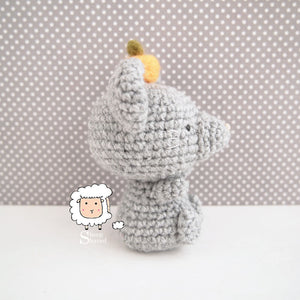 Crochet Chinese New Year Mouse PATTERN in PDF format