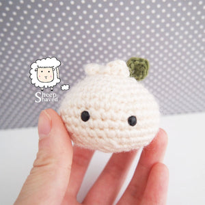 Crochet Dumpling Keychain Accessory - Made to Order