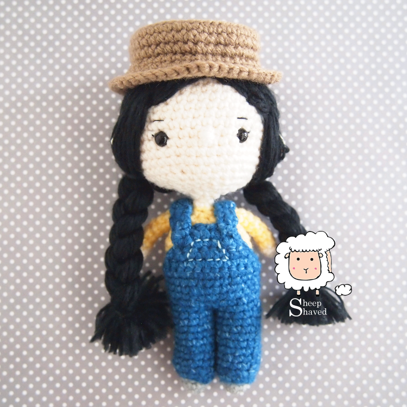 Farmer Doll Amigurumi Crochet Pattern
