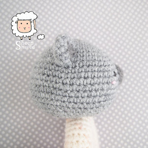 Crochet animal baby rattles + patterns - Amigurumi Today | 300x300