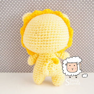 Lion Amigurumi Doll  - Made to Order
