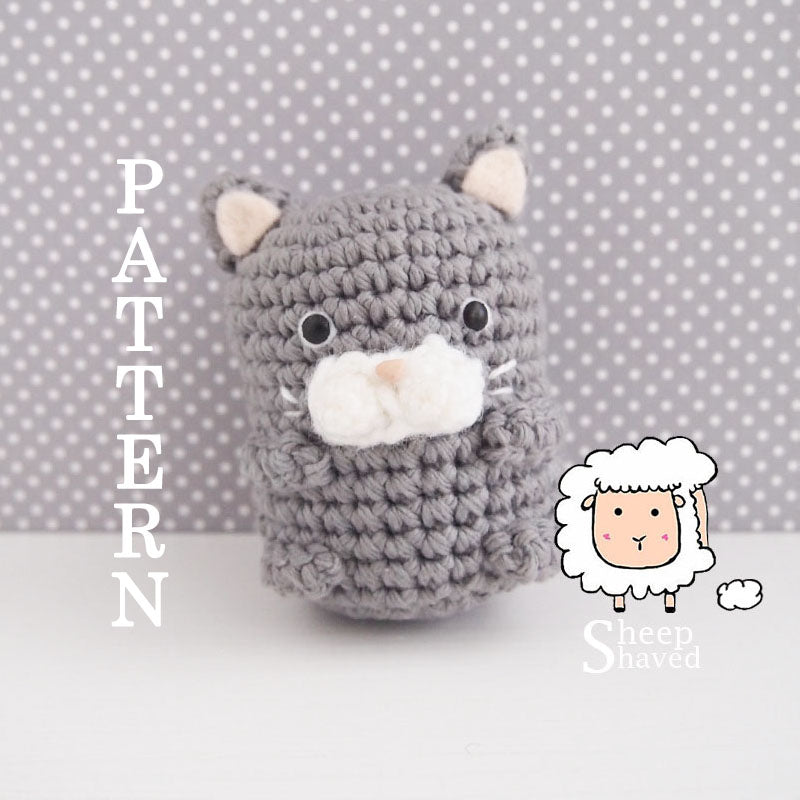 Mini Cat Accessory Pattern