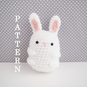Mini Rabbit Amigurumi Accessory Pattern