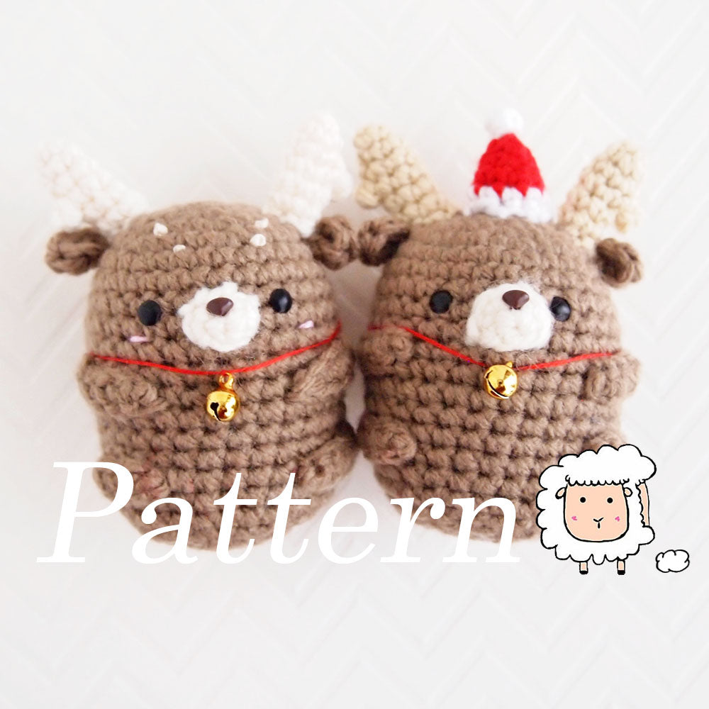 Mini Reindeer Ornament and Accessory Pattern