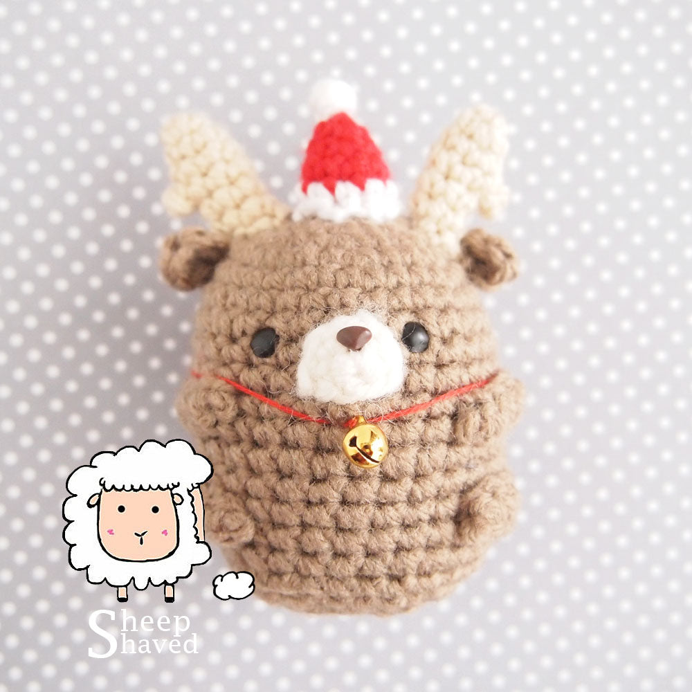Mini Reindeer Ornament and Accessory - Made to Order