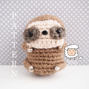 Mini Sloth Pattern