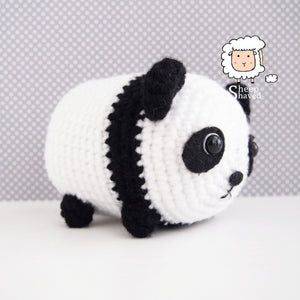 Amigurumi Panda. (Free pattern but needs translating). | Patrones ... | 300x300
