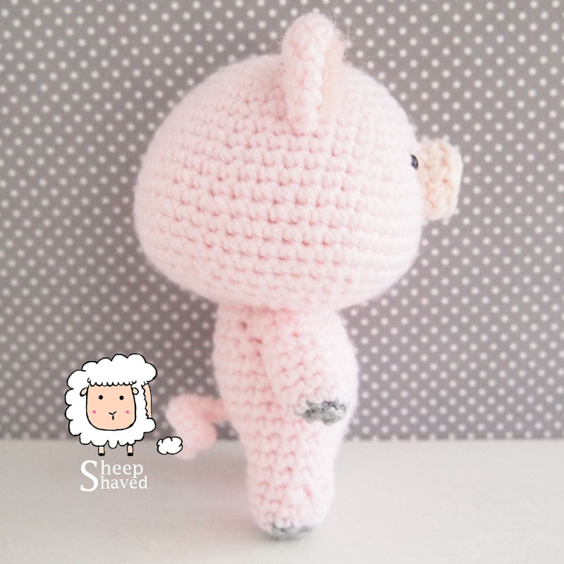 Pig Doll Amigurumi Crochet - Made to Order