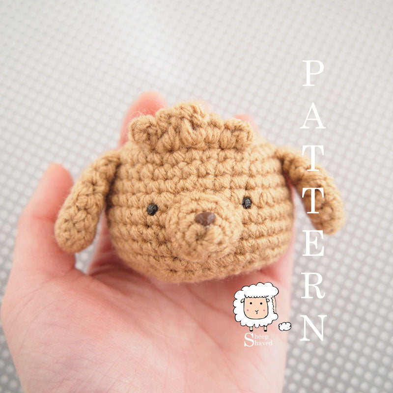 Toy Poodle PATTERN ONLY