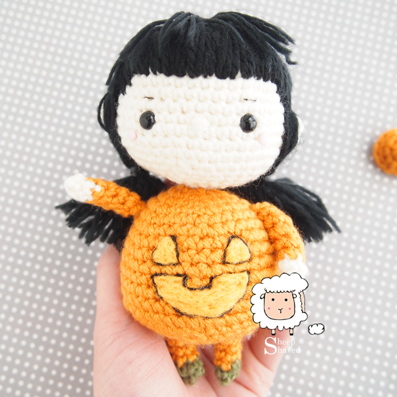 Pumpkin Doll Amigurumi Crochet Pattern