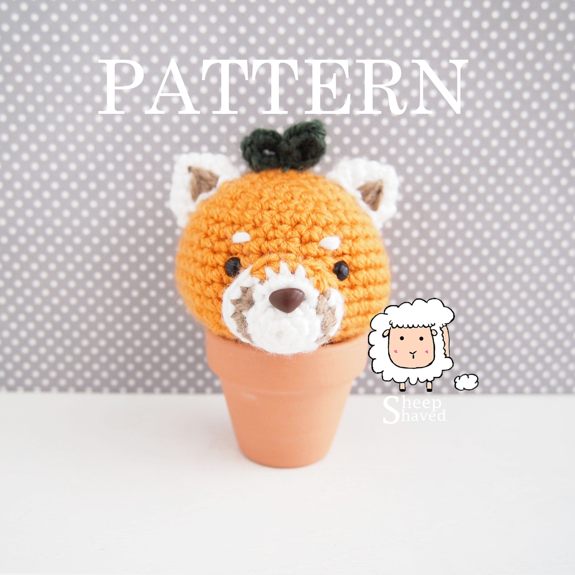 Quentin Quarantino the Red Panda Pattern