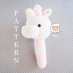 Unicorn Rattle Pattern