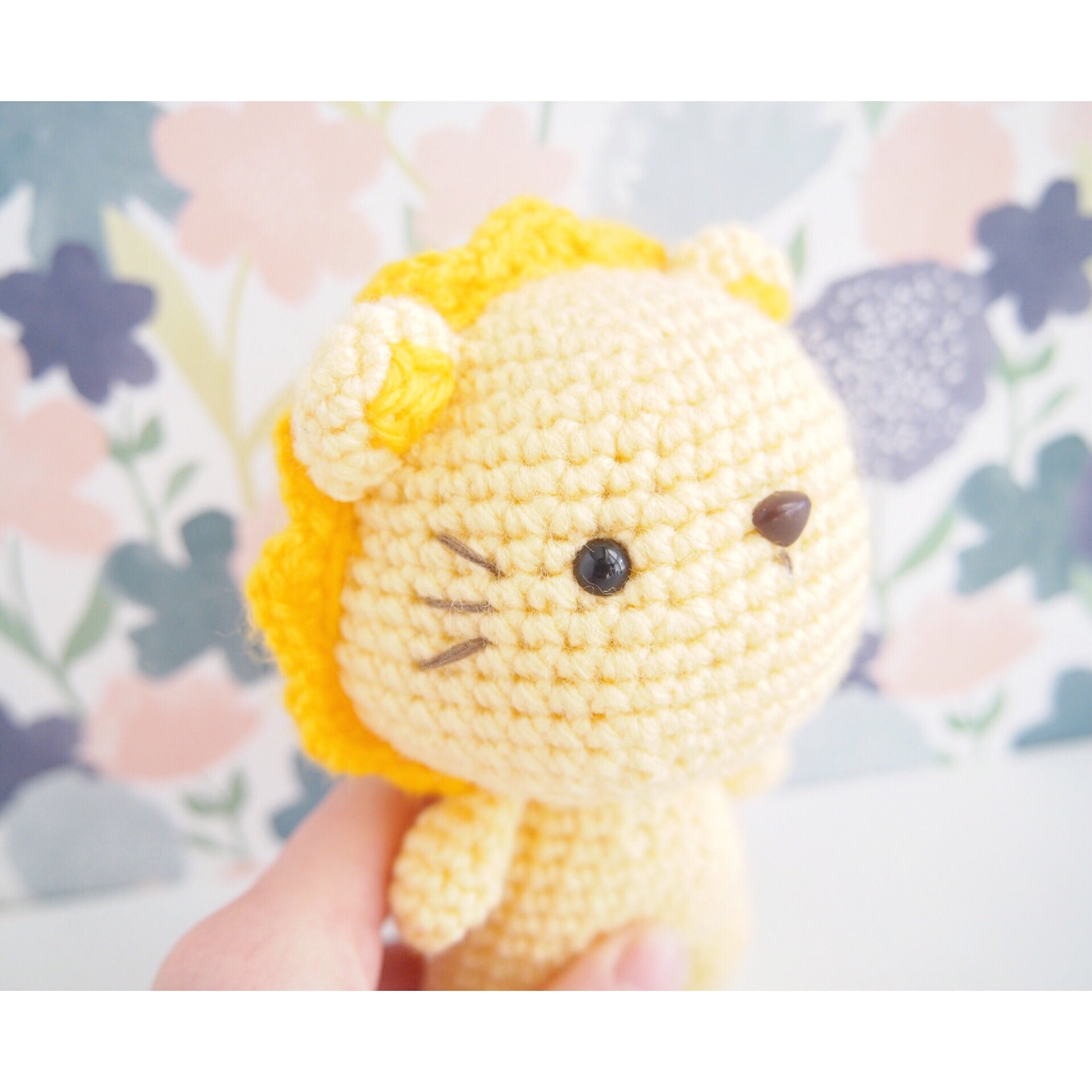 Lion Amigurumi Doll (Finished)