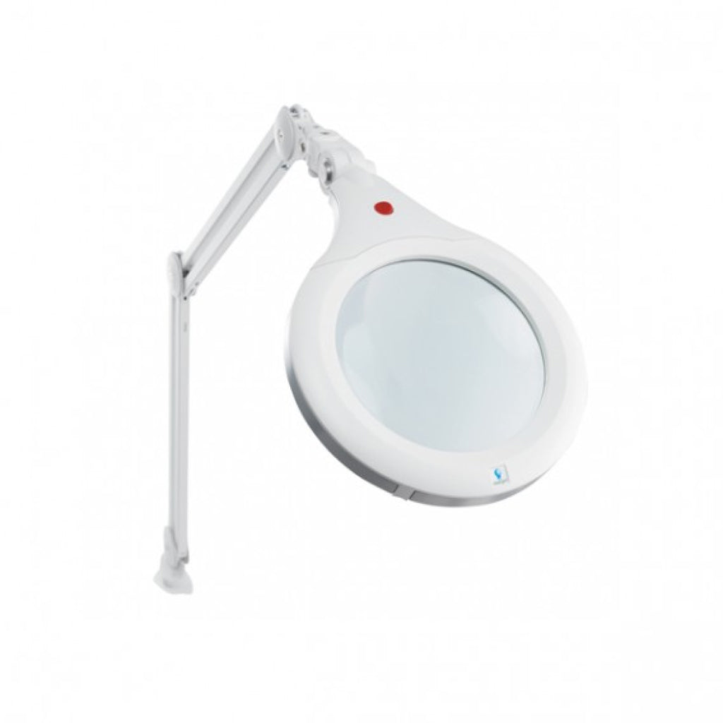 Daylight™ LED Ultra Slim lupa lampa XR, balta  / E25080