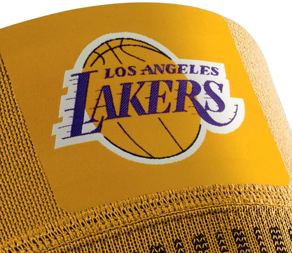 LOS ANGELES LAKERS // Sports Compression Knee Support NBA Team Editions // Sporta kompresijas ceļa locītavas atbalsts
