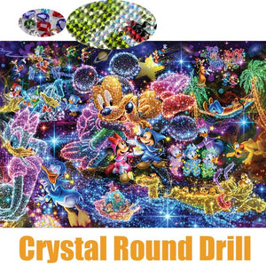 Full 5d Crystal Round Drill Diamond Painting Cartood Diy Diamond Embroidery - coolelectronicstore.com