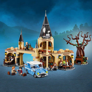 Harri Potter Series Hogwarts Whomping Willow Building Blocks 843pcs Brick Toys - coolelectronicstore.com