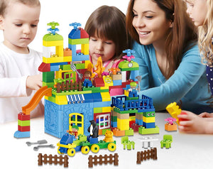Big Size Building Blocks 160pcs Amusement Park Model Building Toys Large Size - coolelectronicstore.com