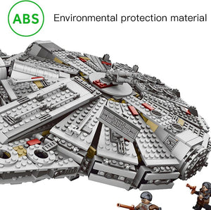 Star Millennium Falcon Figures Wars Model Building Blocks Harmless Bricks - coolelectronicstore.com