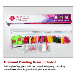 Diy 5d Sale Diamond Embroidery Diamond Mosaic Full Descents of the Dragon - coolelectronicstore.com