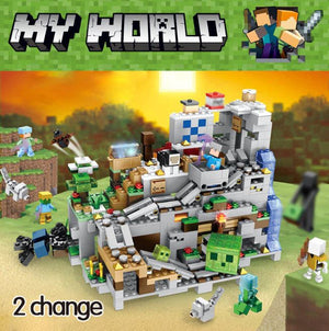 My World Minecraft Cave Building Blocks Compatible Legoinglys Minecraft Aminal - coolelectronicstore.com