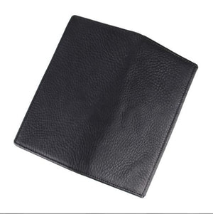 Unisex Genuine Leather Casual Travel Men Travel Solid Wallets New - coolelectronicstore.com