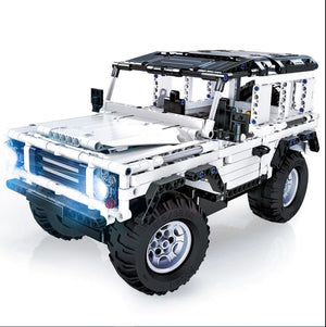 Technic Series 553 Pcs Defender Rc Car Model Suv Diy Building Block Car Brick - coolelectronicstore.com