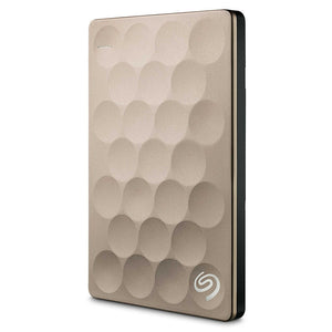 Seagate Backup Plus Ultra Slim 1TB 2TB Portable HDD External Hard Drive USB 3.0 Platinum 9.6mm Original for Laptop Desktop - coolelectronicstore.com