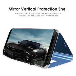 Luxury Smart Mirror Phone Case For Apple iPhone Xs max xr 7 Plus 8 6 Plus support Flip cover For iPhone X 6s 6 Protective case - coolelectronicstore.com