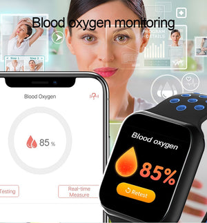 Vwar AW5 Heart Rate Monitor Blood Pressure Smart Watch Waterproof Men Sport Bluetooth Smartwatch Series 4 for Apple iPhone IOS - coolelectronicstore.com