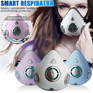 Smart Electric and Air Purification Respirator Automatic Fresh Air Respirator outdoor safety Mouth-muffle - coolelectronicstore.com