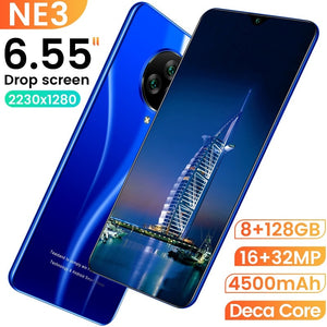 NE3 Smartphone 8+256G Mobile Phone HD Screen 6.55 Inch Large Screen Dual Card Dual Standby - coolelectronicstore.com