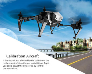 Genuine Deformation Drone With HD Camera 2.4G 4CH 6-Axis Gyro Automatic Return Headless Mode Remote Control Helicopter - coolelectronicstore.com