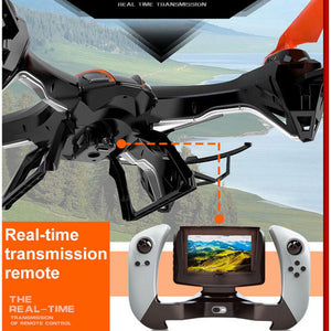 Professional RC Helicopter Quadcopter  U818S RC drone 2.4G 4CH 6 Aixs FPV real-time transmission With 5.0 MP HD Camera VS X8W - coolelectronicstore.com